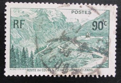 Francie 1937 Horská silnice Mi# 372 1114