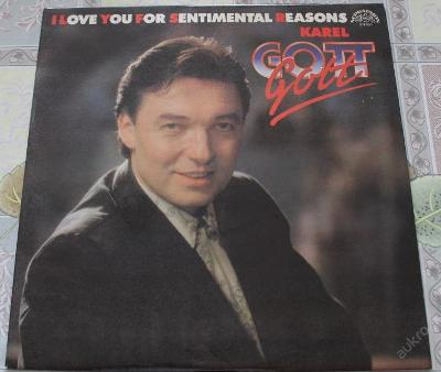 LP-Karel Gott - I Love You For Sentimental Reasons