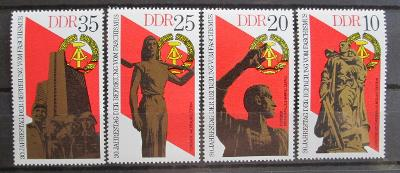 DDR 1975 Výročí osvobození Mi# 2038-41 1138