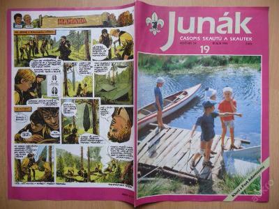 Časopis - JUNÁK - číslo 19 z října roku 1991