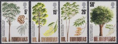 BRITSKÝ HONDURAS 1971 - FLORA Mi.č.: 269-272 - **