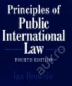 Principles of Public International Law / Brownlie (english)
