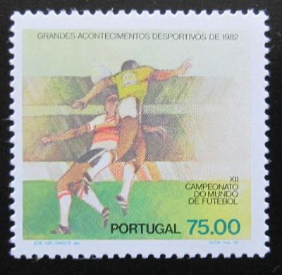 Portugalsko 1981 MS ve fotbale Mi# 1561 Kat 6€