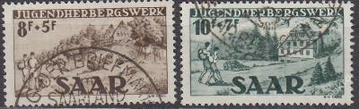 SAAR - MLÁDEŽ 1949 Mi.č.: 262-263 - ražené