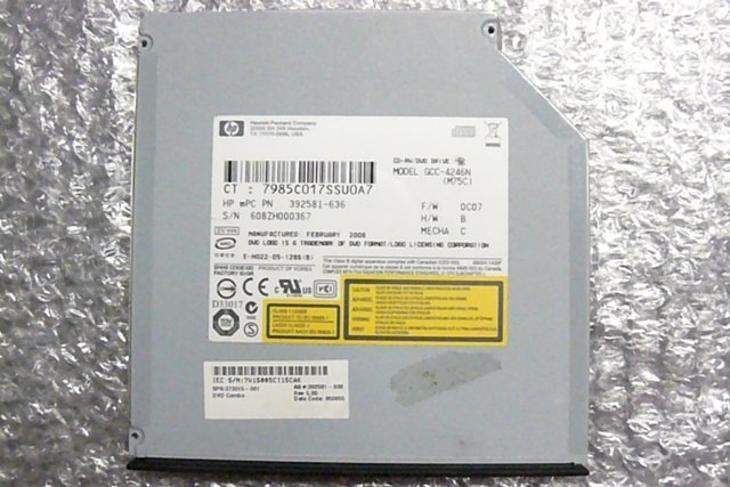 DVD-ROM GCC-4246N z  HP Compaq NC6220 - Notebooky, příslušenství