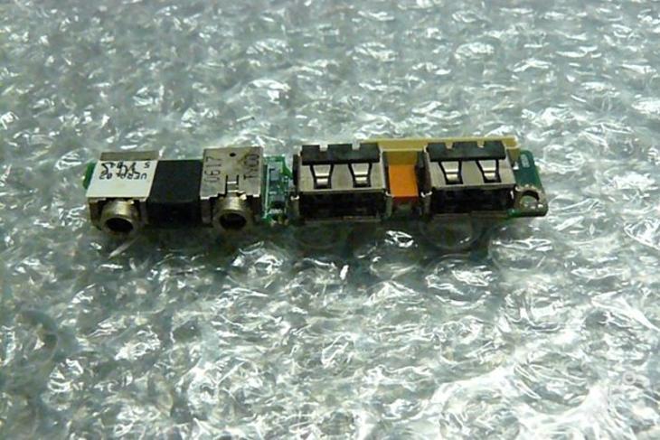 USB + AUDIO z  HP Compaq NC6220 - Notebooky, příslušenství