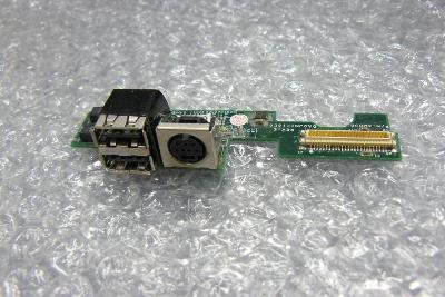 Usb + napájení z Dell D600 PP05L