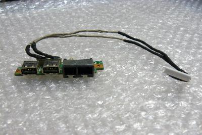 Lan + usb board z MSI Megabook MS16352
