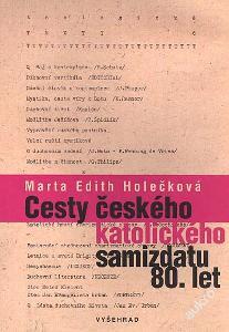 Český katolický samizdat 80tá léta Holečková SLEVA