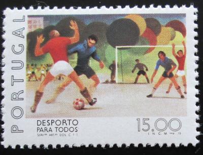 Portugalsko 1978 Fotbal Mi# 1410
