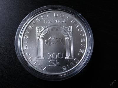200 Sk - VSTUP SLOVENSKA DO EU - 2004, excelentní