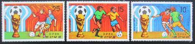 KLDR 1978 MS ve fotbale Mi# 1777-79