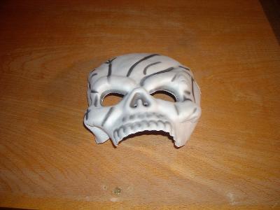 kostým - lebka