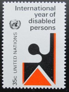 OSN New York 1981 Rok postižených Mi# 368 1189