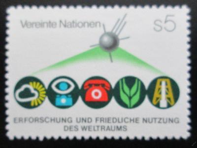 OSN Vídeň 1982 Mírové využití vesmíru Mi# 26 1189