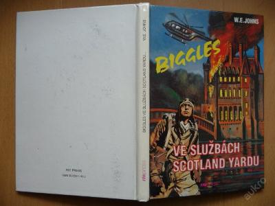 BIGGLES VE SLUŽBÁCH SCOTLAND Y. - W.E.Johns - 1993