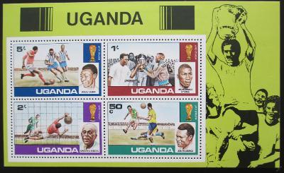 Uganda 1978 MS ve fotbale Mi# Block 9