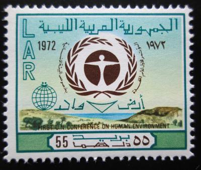 Libye 1972 Konf. životního prostředí Mi# 398 1152