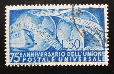 Itálie 1949 Výročí UPU Mi# 772 Kat 10€ 1153