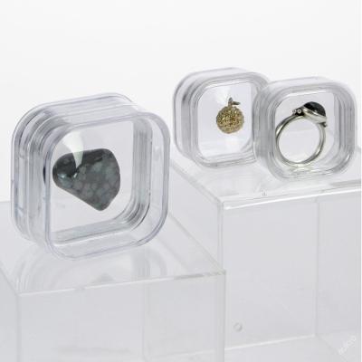 Kapsle na šperky, drahé kameny, 50 x 50 x 25 mm