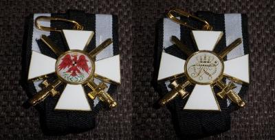 PRUSKO ŘAD Červeného Orla 2st medaile replika *35