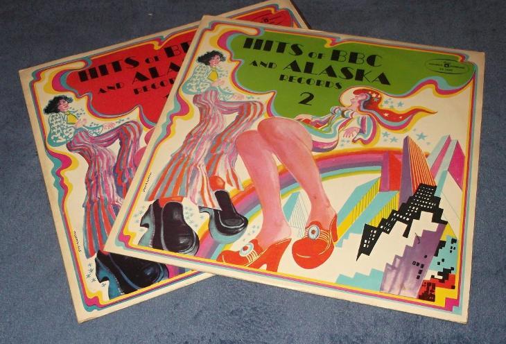 2 x LP Hits Of BBC And Alaska Records 1, 2 - Hudba