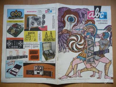 Časopis - ABC - 15. ročník z roku 1971 - číslo 14.
