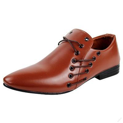 Nádherné pánské slip-on Oxford boty. Hnědé.