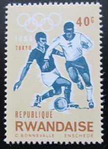 Rwanda 1964 Fotbal, LOH Tokio Mi# 80