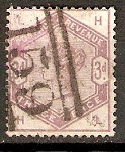 Anglie - razít.,Mi.č.76,Mi.kat. 70 EUR  /L427/