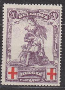 BELGIE 1914 - Mi.č.: 106 - *nálepka* ; 55 EUR