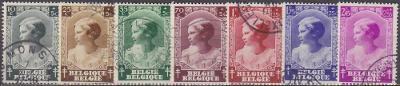 BELGIE - TEBERKULOZA 1937 Mi.č.: 457-464 - ražené