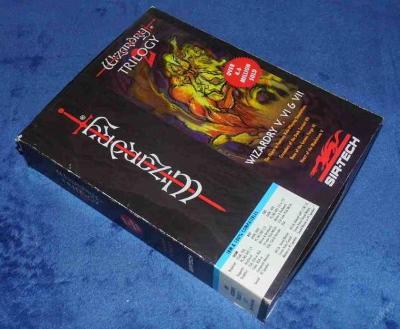 Retro hra pro PC WIZARDRY TRILOGY 2