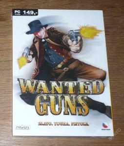 Hra pro PC WANTED GUNS *** NOVÁ, ZABALENÁ HRA ***