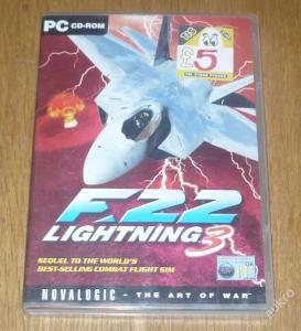 Hra pro PC F-22 LIGHTNING 3