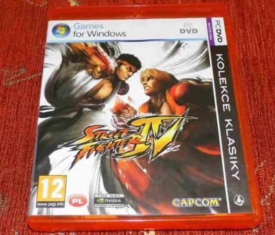 Hra pro PC STREET FIGHTER IV