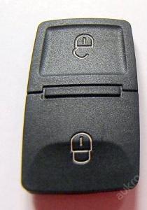 KLÍČ  Volkswagen, škoda, seat,audi, 2  tlačítka