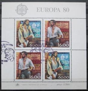 Portugalsko 1980 Evropa CEPT Mi# Block 29 0727
