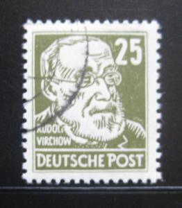 DDR Sovětská zóna 1948 Rudolf Virchow Mi# 221 0444