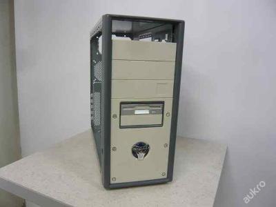 PC počítačová skříň / case miditower plechová mATX