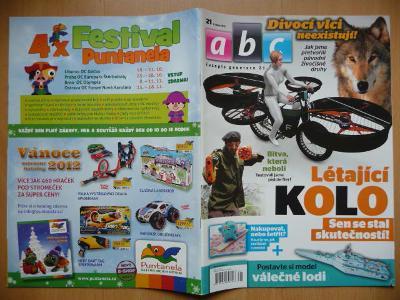 Časopis - ABC - 57. ročník z roku 2012 - číslo 21.