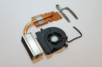 Chlazení + ventilátor z Toshiba Satellite A205