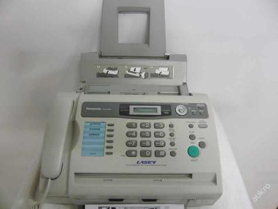 Fax Panasonic KX-FL403EX-W, laserový, telefon