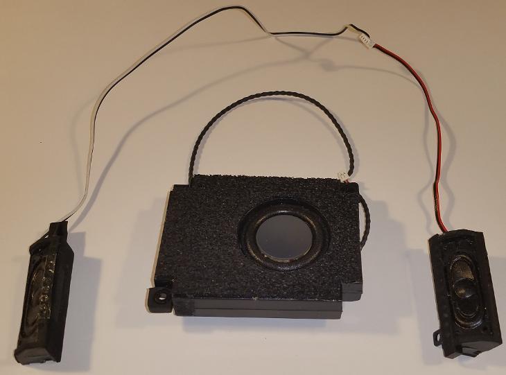 Repro z MSI GX-700X - Notebooky, příslušenství