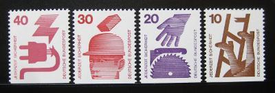 Německo 1974 Prevence před nehodami Mi# 695-9 0463