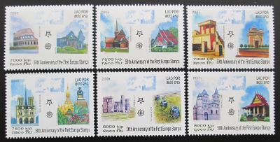 Laos 2005 Výročí Evropa CEPT Mi# 1973-78 10€ 0458