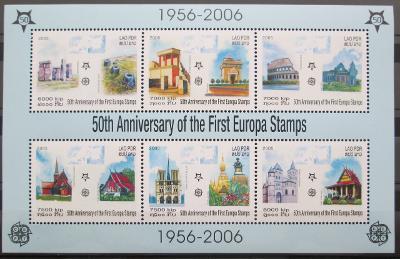 Laos 2005 Evropa CEPT Mi# Block 194 A Kat 25€ 0458