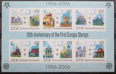 Laos 2005 Evropa CEPT Mi# Block 194 B Kat 25€ 0458