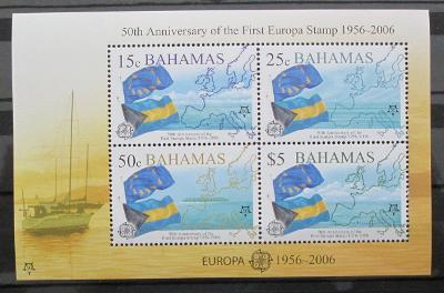 Bahamy 2005 Evropa CEPT Mi# Block 105 Kat 15€ 0459