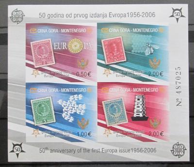 Montenegro 2006 Evropa CEPT Mi# Bl 2 B 80€ 0431